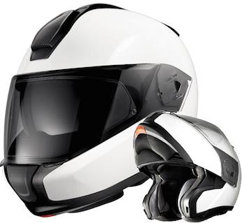 bmw helmet system 6 evo bright white c/w bmw bluetooth