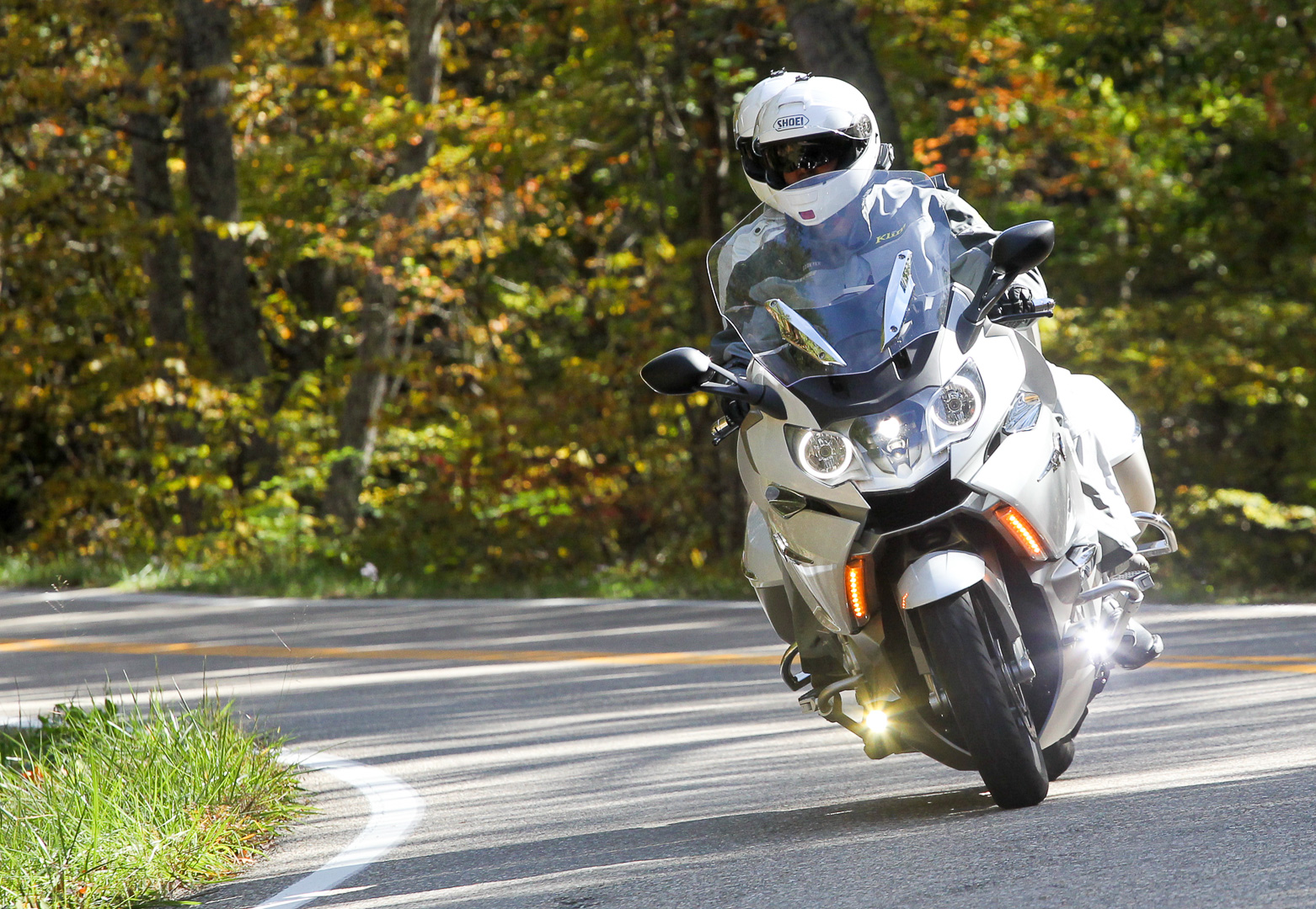 D October Day K Tour Skyline Drive Blue Ridge Parkway Tail Dragon on 2004 Bmw R1150rt