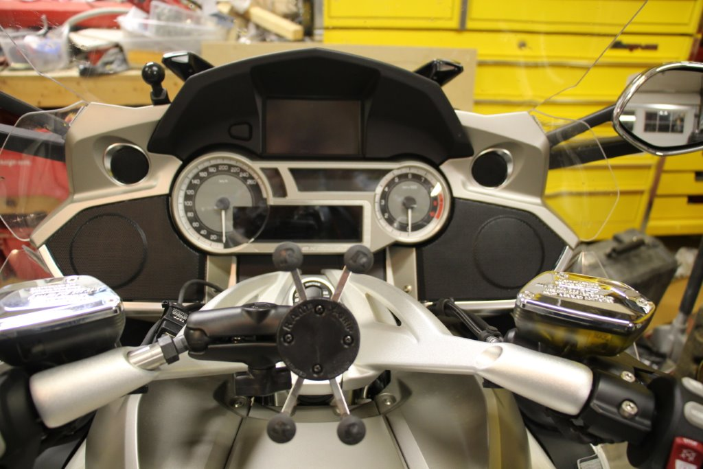 Gtl Exclusive Left Handlebar Ram Mount Install Page 4