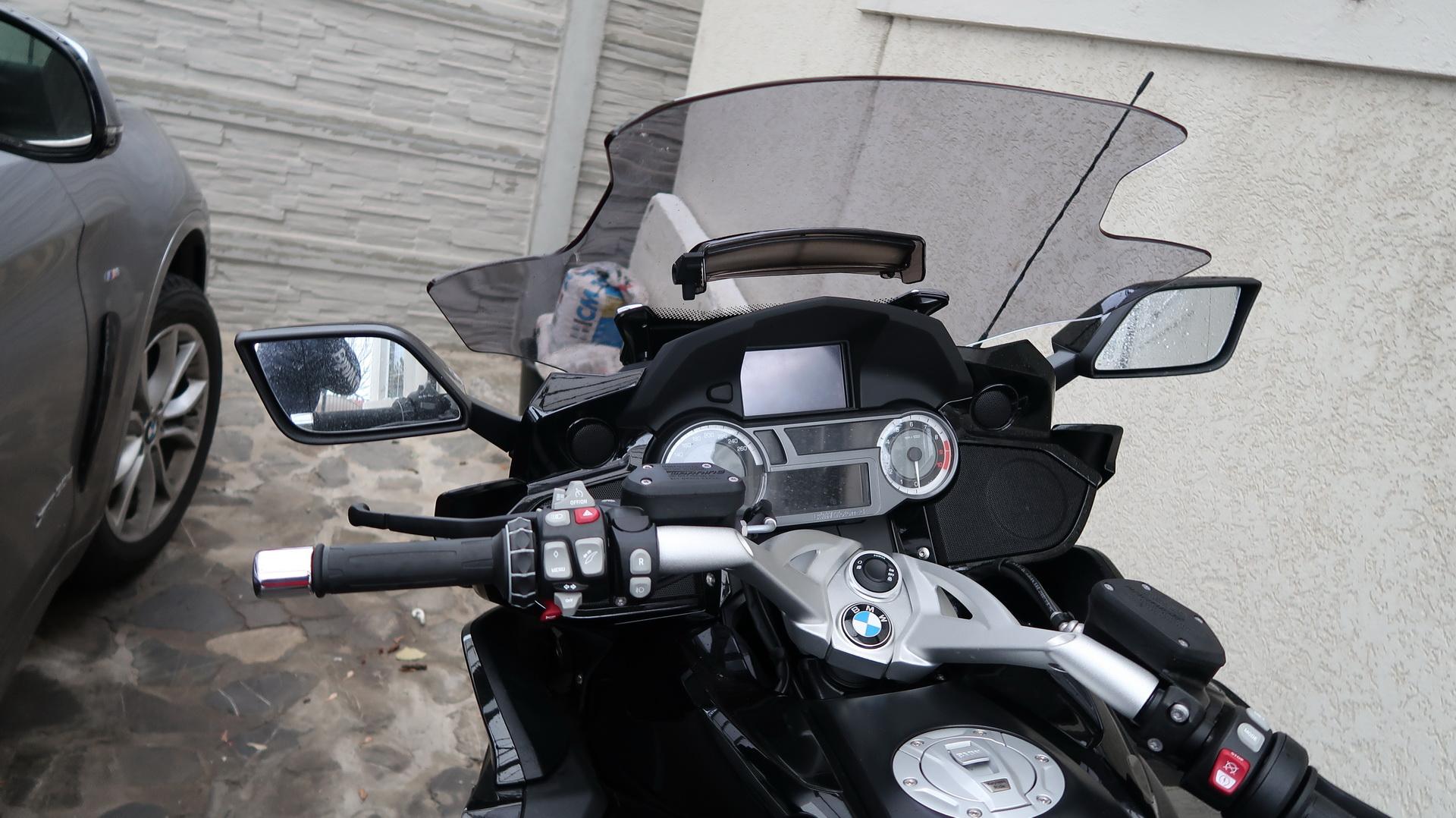 BMW Of Newport >> Wunderlich screen on K1600B - PICS - BMW K1600 Forum : BMW ...