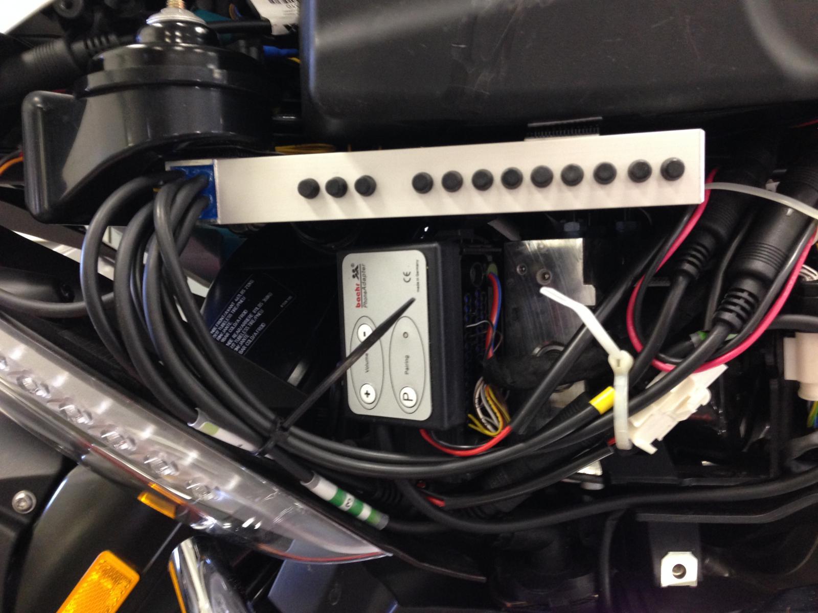Baehr For My 1600gtl Install Bmw K1600 Forum Bmw K1600