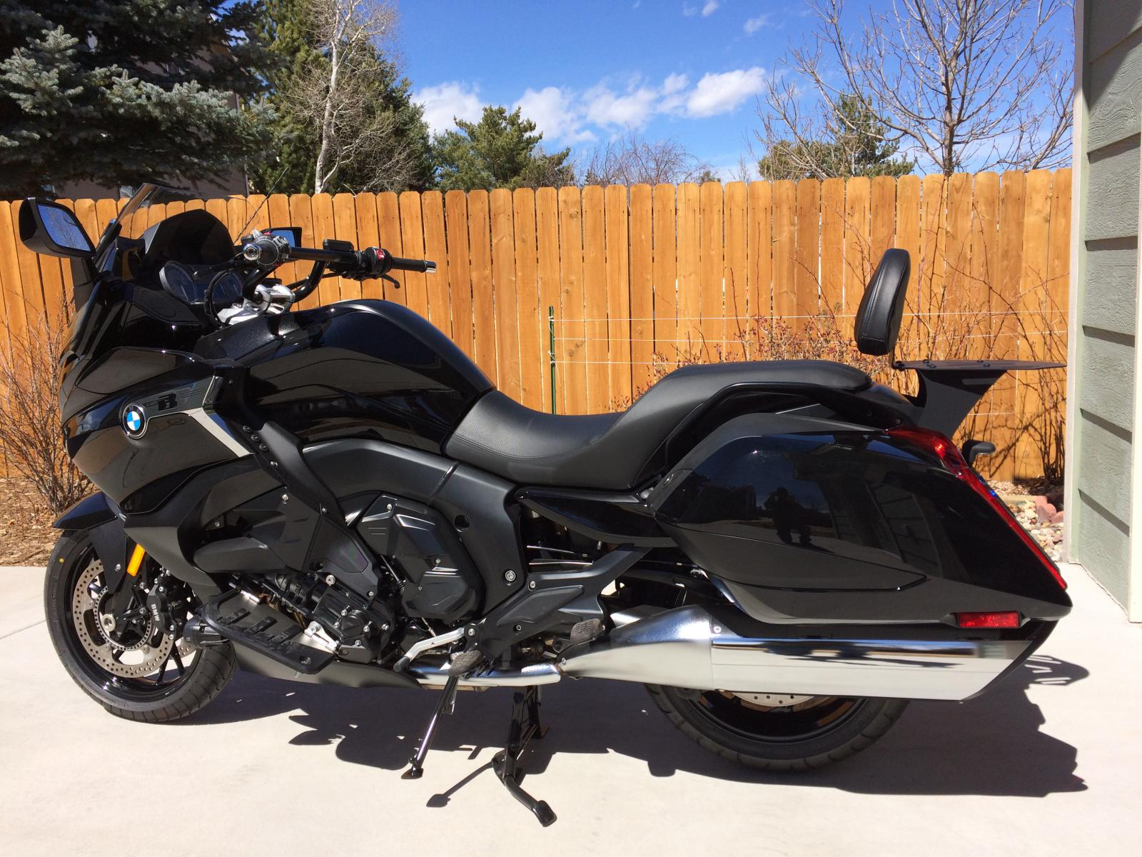 Stainless Steel Rack for my K1600B - Page 4 - BMW K1600 ...