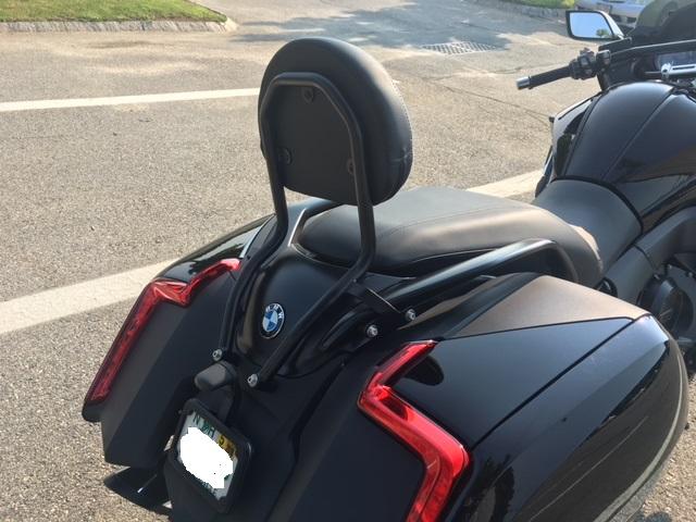 Wunderlich Backrest for K16B - BMW K1600 Forum : BMW K1600