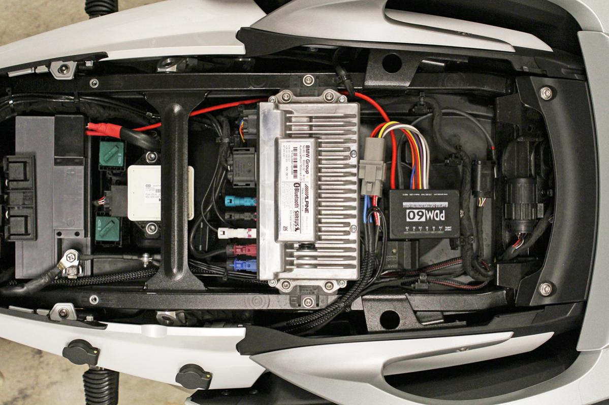 Bmw S1000rr Fuse Box Wiring Diagram 92 325i Pdm60 Accessory Outlets Clearwater Glendas K1600 Forum 2003