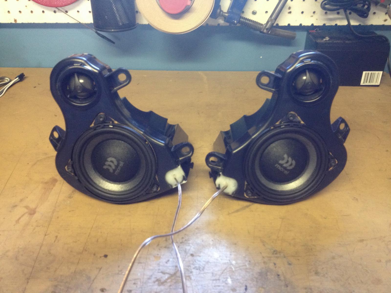 Speaker Wire Gauge >> Replacement original speakers - Page 49 - BMW K1600 Forum : BMW K1600 GT and GTL Forums