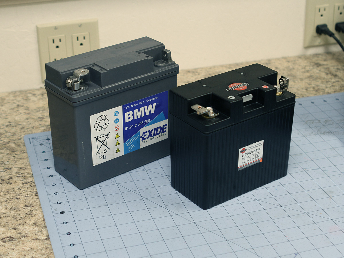D Shorai Lithium Battery Installation Tests Shorai on 2010 Bmw Battery Location