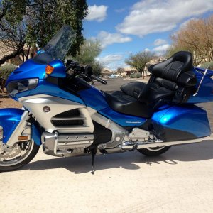 2012 Honda Gold Wing, which to get the ABS I was forced to get the Nav.   Nice bike, but all the buttons bothered me and I ended up selling to a nice