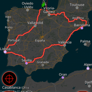 European Motorbike Tour 2019 - planned for Sept/Oct, via cruise ship from Portsmouth/Bilbao and Santander / Plymouth return.