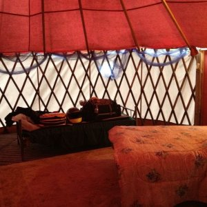 Yurt at Toad Rock Motorcycle campground