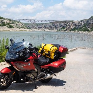 KBiK on the Pecos River below the High Bridge for US90, west Texas, June 2015